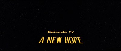 Star Wars Episode IV: A New Hope (1977)