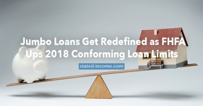 Jumbo Loans Get Redefined as Conforming Loan Limits Increase in 2018