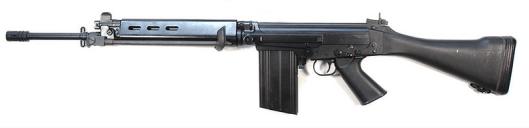 FN FAL Battle Rifle