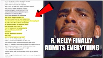 R. KELLY FINALLY ADMITS EVERYTHING IN NEW 19 MINUTE SONG - ILLUMINATI RITUAL | EXPLAINED IN FULL