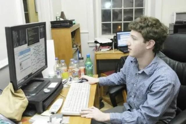 Facebook founder of Mark Zuckerberg