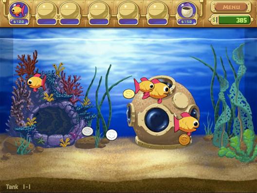 Insaniquarium Insane Aquarium Game Aquarium Fish