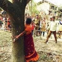 Six-hour torture --Woman tied to tree, assaulted over refusal to withdraw case #Vaw #WTFnews
