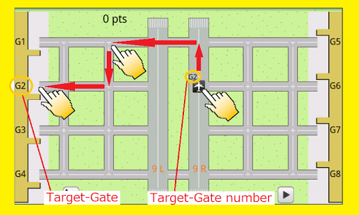 Airport Control puzzle game