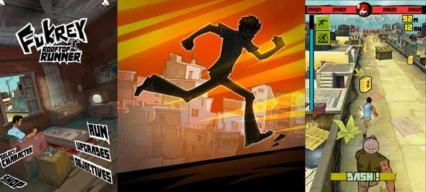 Fukrey:Rooftop Runner