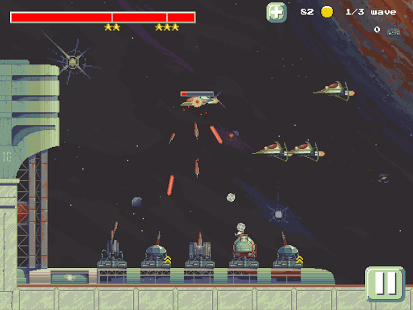 8-bit Space Tower Defence TD