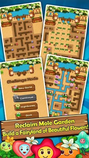 Mole Garden - Flower Plumber
