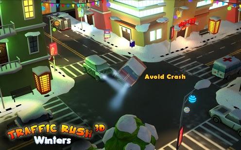 Traffic Rush Winters 3D