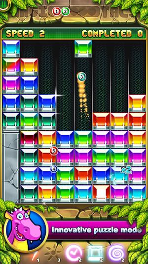 Magic Crystals: match 3 puzzle