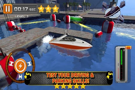 Boat Parking 3D Driving Ship 2