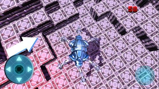 Moon Parking Spider Robot