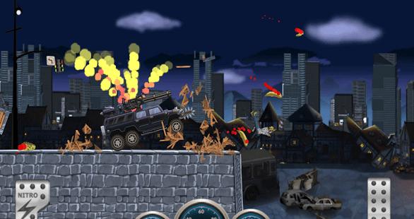 Monster Dash Hill Racer