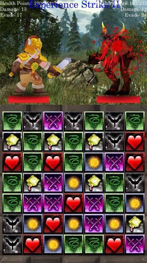 Match 3 RPG: Evil Hunter