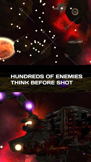 Exodite: Space action shooter