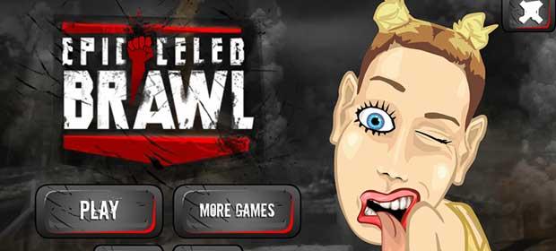 Epic Celeb Brawl - Miley Cyrus