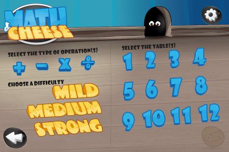 Math and Cheese FREE math game
