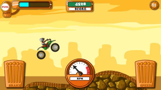 Hill Climb Motocross