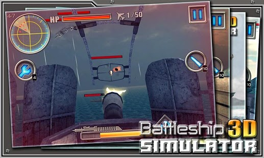 3D Battleship Simulator
