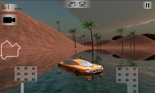 Lava Mountain Car Racing