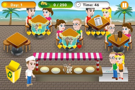 Cooking Game and Restaurant