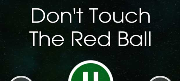 Don't Touch The Red Ball