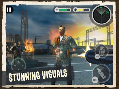 Zombie Combat: Trigger Call 3D
