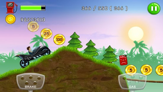 Mountain Up Hill Climb Race