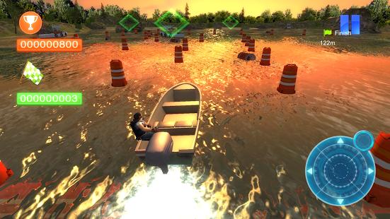 Speed Boat Parking 3D 2015