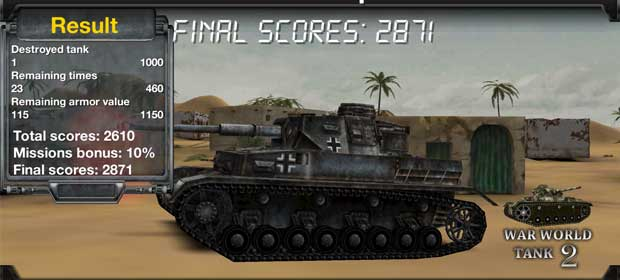 War World Tank 2
