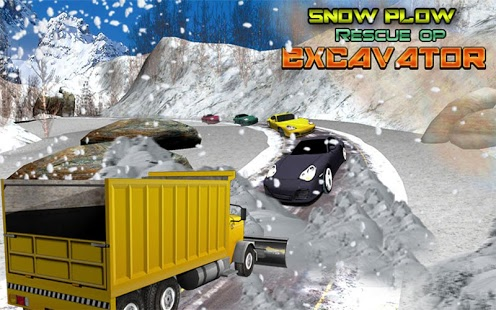 Snow Plow Rescue OP: Excavator