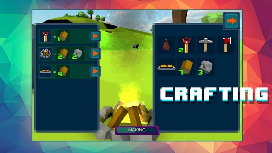 Island Survival - Craft 3D