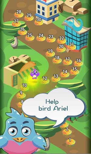 Birds Bomber Match3 Puzzle