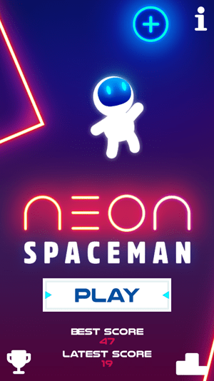 Neon Spaceman