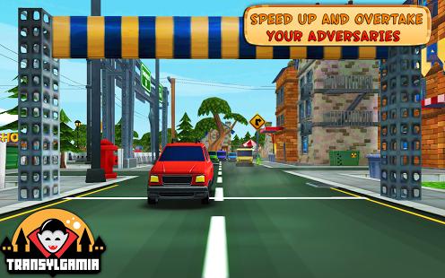 Cartoon Race 3D Car Driver