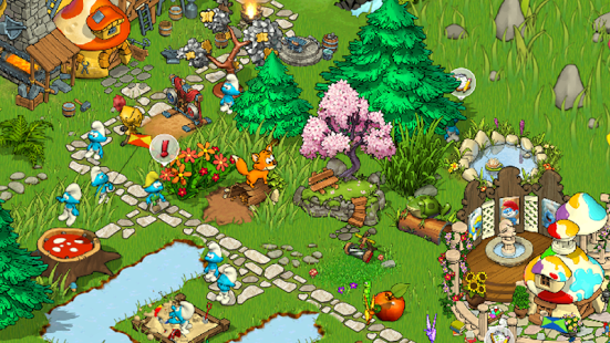 Smurfs' Village Magical Meadow