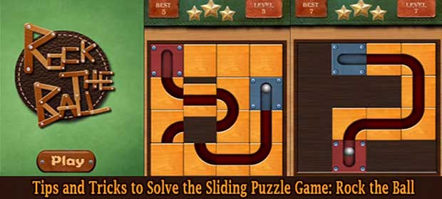 Rock the Ball: Slide Puzzle