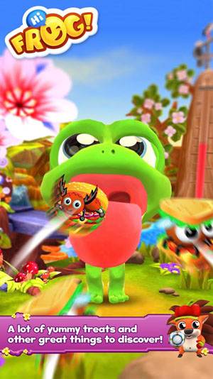 Hi Frog! - Free pet game app