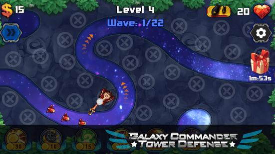 Galaxy Commander Tower defense