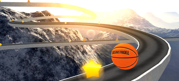 BasketRoll 3D: Rolling Ball