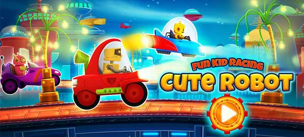 Cute Robot Car Racing