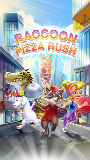 Raccoon Pizza Rush