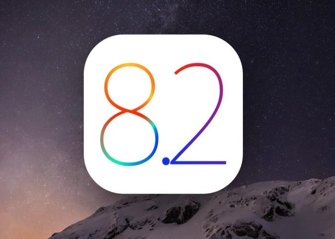 iOS 8.2 logo
