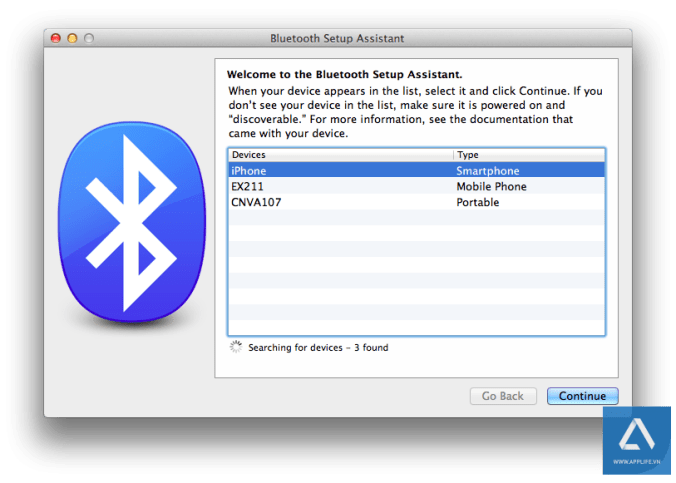 Mac-OS-X-tethering-set-up-bluetooth-device-list