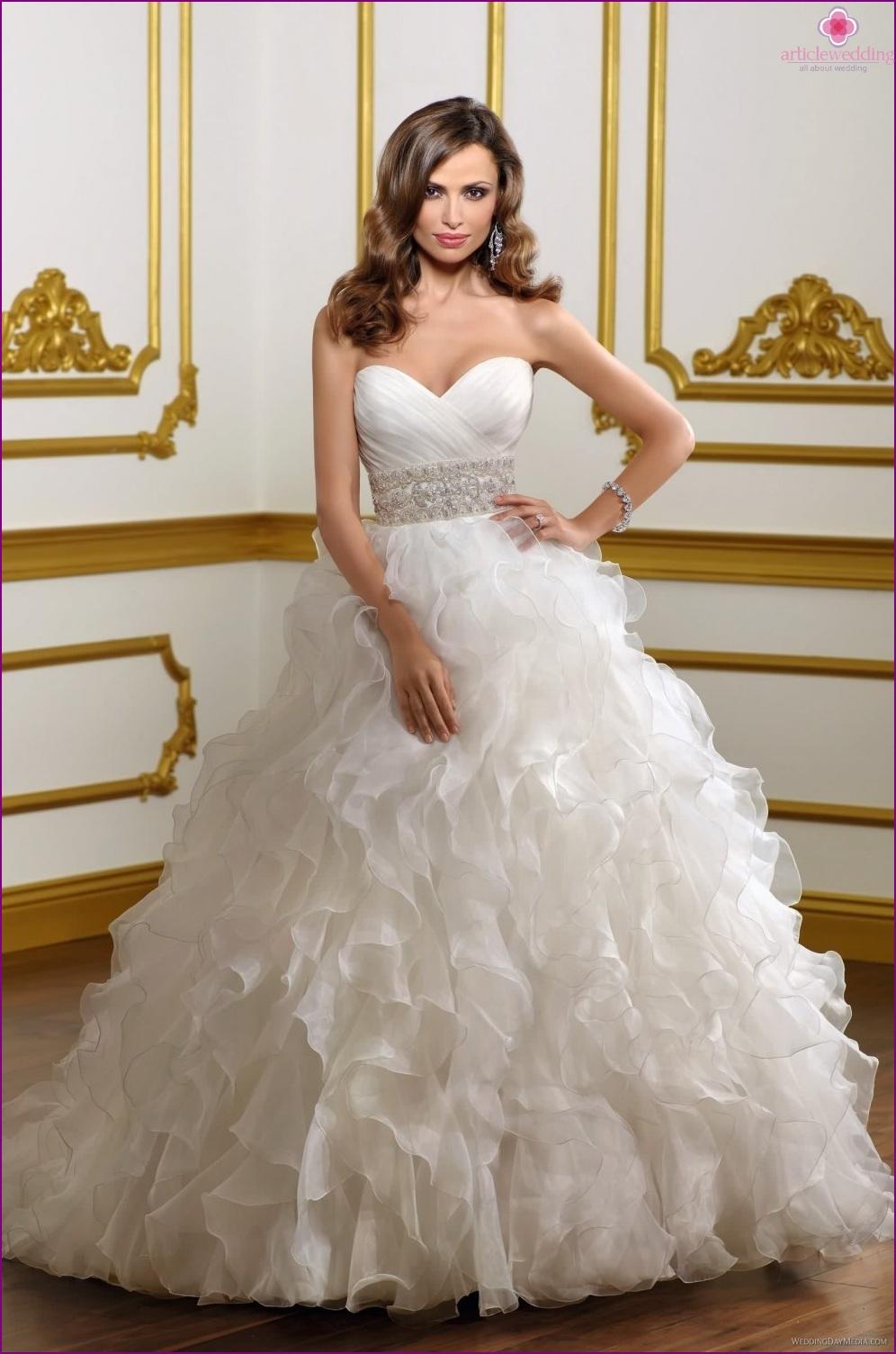 luxury wedding dresses stylish and romantic luxury wedding dresses Magnificent wedding dress