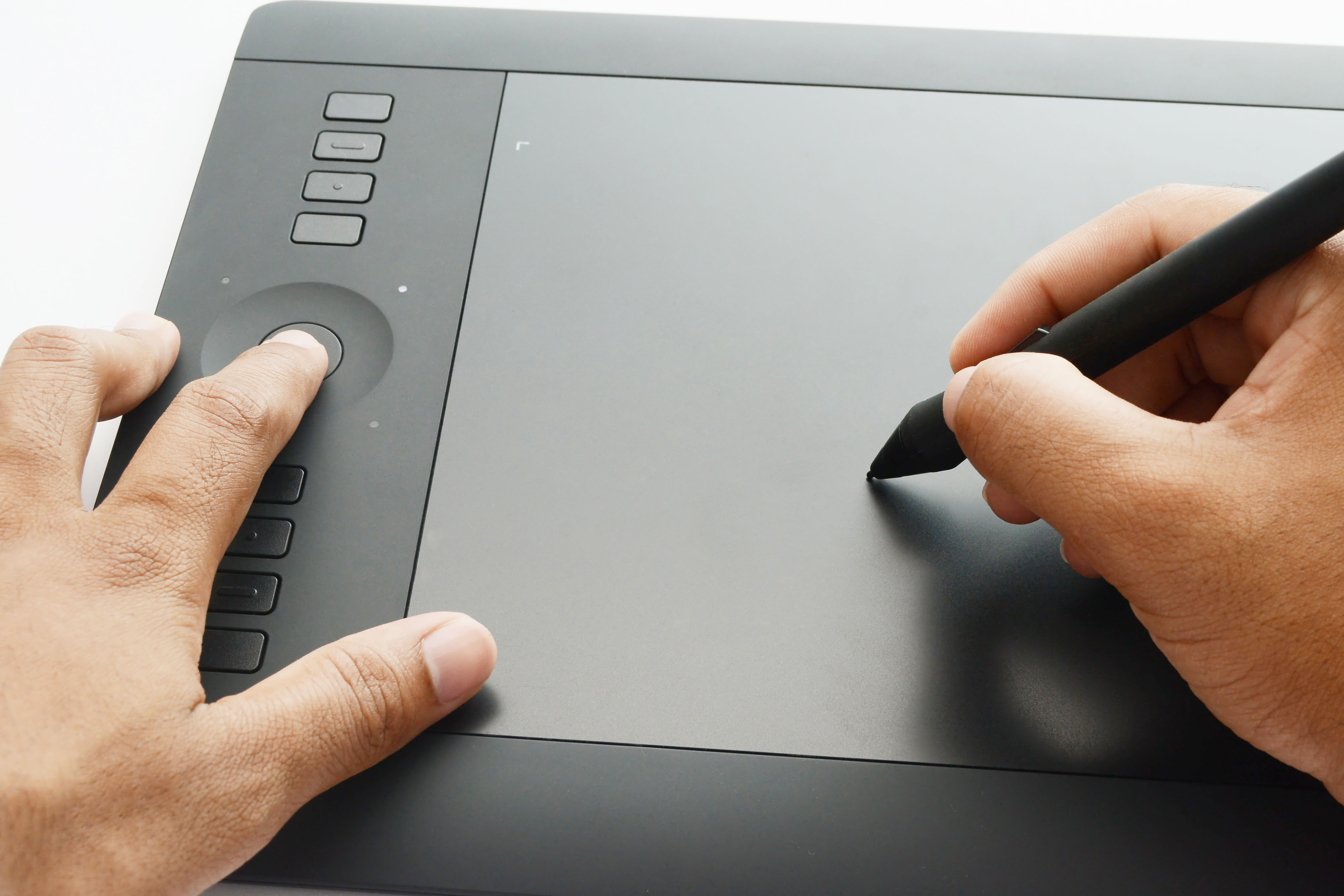 Fullsize Of Wacom Intuos Pen And Touch Small Tablet