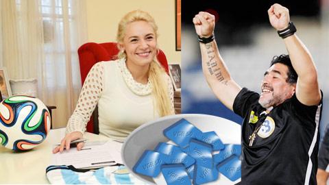 maradona RUMOUR: An Argentine TV show claims Diego Maradona pops 4 viagra pills a day
