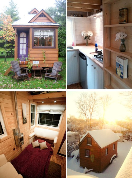 Medium Of Tiny House Interiors