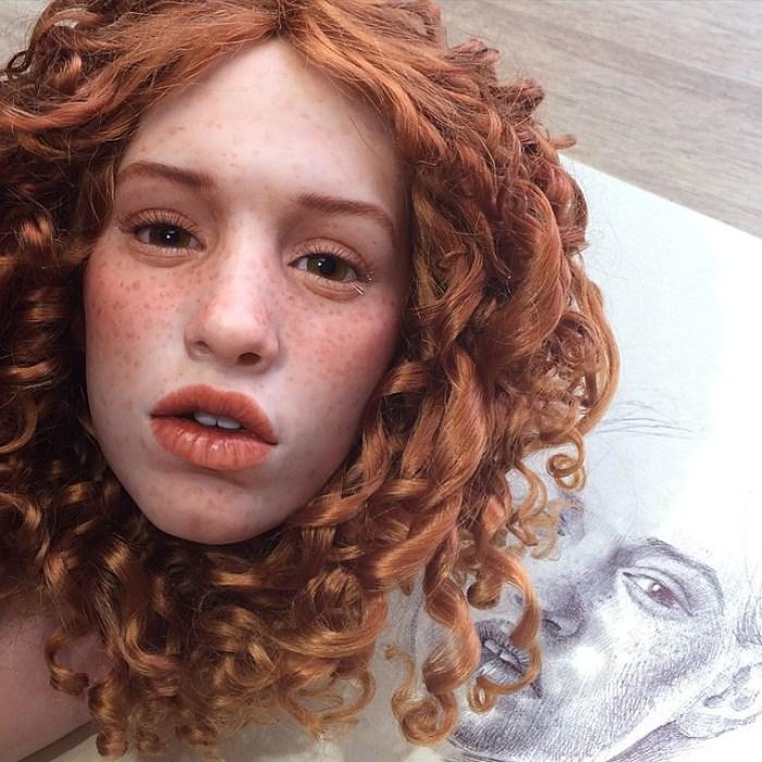 realistyczne twarze lalek-polimer-glinka-michael-zajkov-10