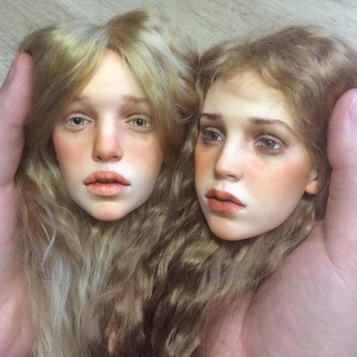 realistyczne twarze lalek-polimer-glinka-michael-zajkov-2