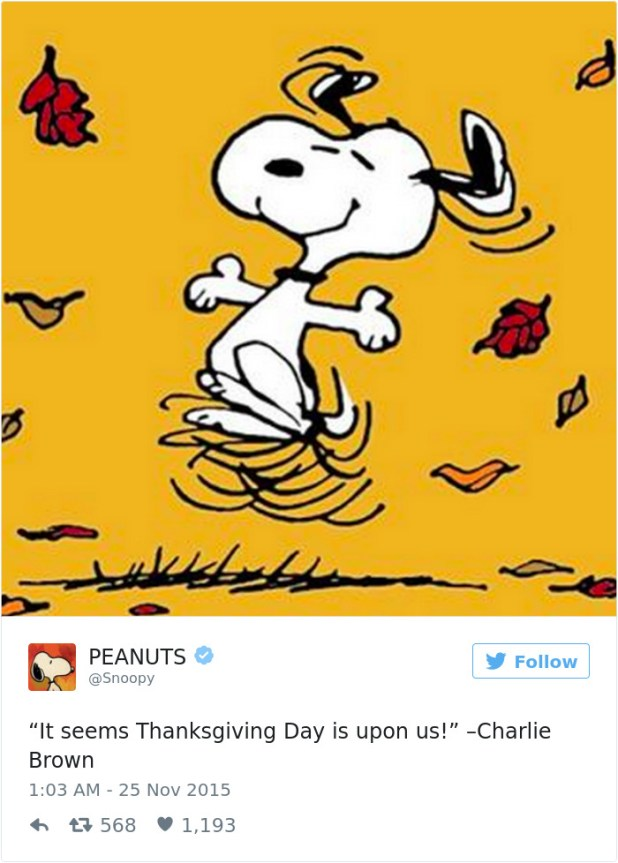 Funny Thanksgiving Tweets